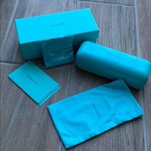 Tiffany eyeglass case and box